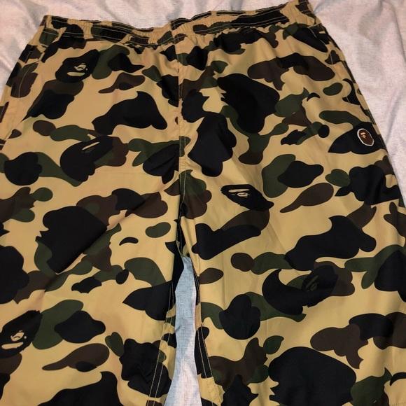 83cd857b65 Bape Swim | 1st Camo Trunks Shorts | Poshmark